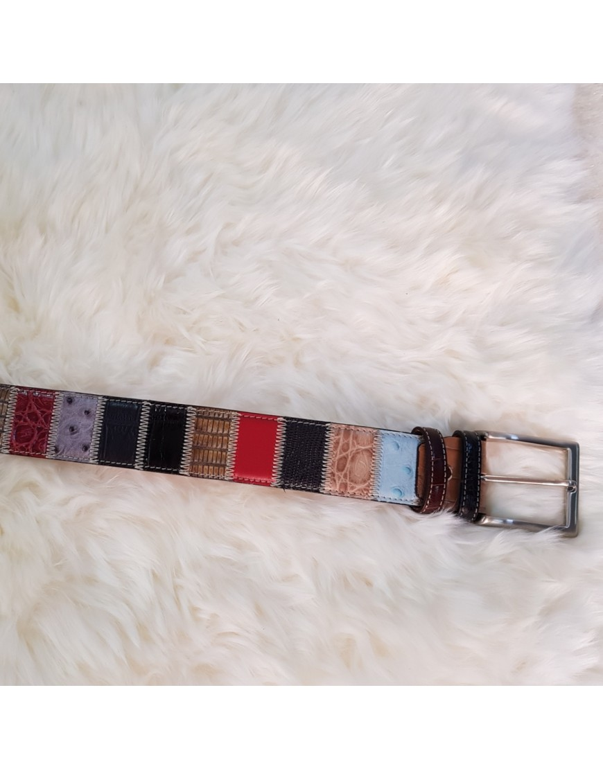 CHARLES ROBERTS LEATHER BELT